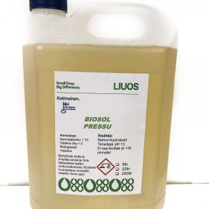 Kuva Biosol pressu -tuotteesta